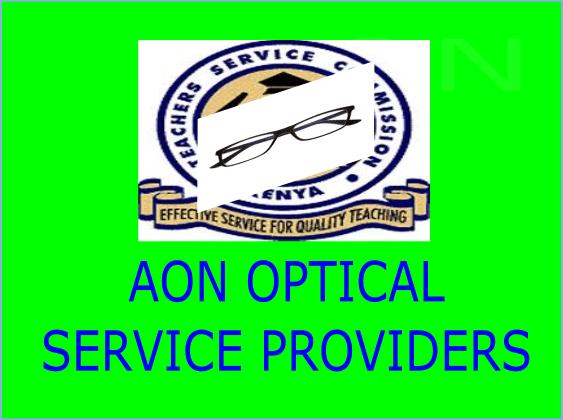 TSC AON optical hospitals in Kenya
