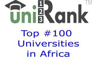 Top 100 best universities in Africa
