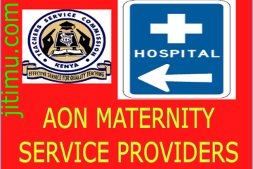 TSC AON maternity hospitals in Kenya