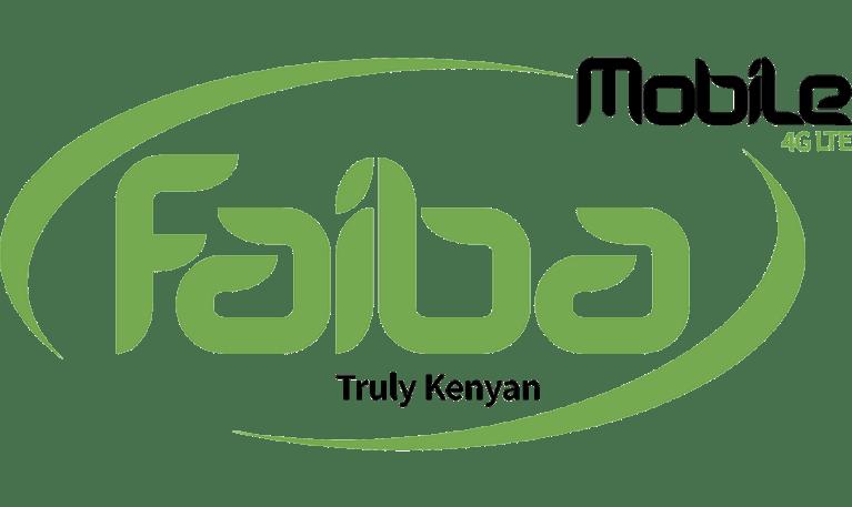 Faiba 4G Internet Packages Faiba mobile logo