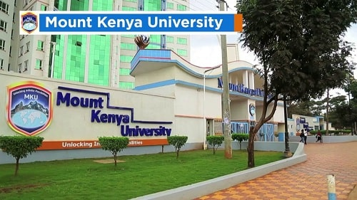 Courses offered at Mount Kenya University