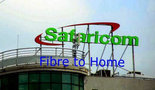 Safaricom home fibre packages