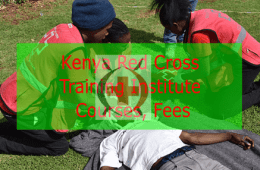 Kenya Red Cross Training Institute courses, fee structure and requirements.