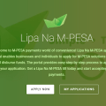 Lipa na Mpesa Paybill application process online