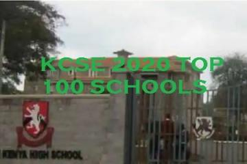 kcse 2020 best schools in Kenya