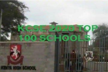 kcse 2020 best schools in Kenya