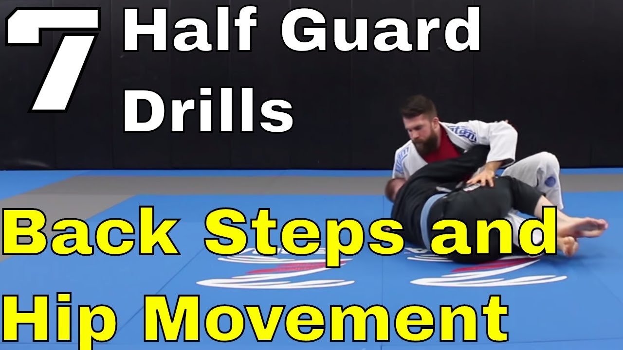 7 BJJ Drills to Build Quick Hips and Pass Half Guard (#3 is