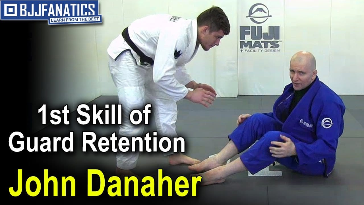 Guard Retention 1st Skill by John Danaher | jitseasy
