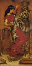 Lawrence Alma-Tadema (1836-1912) Herbst (Tanzende Bacchantin), 1877 Birmingham, Museum & Art Gallery