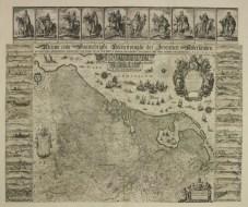 Johann Willemsz. Blaeu, [...] Beschrijvinghe der Zeventien Nederlanden [...] In: Johannes Klencke, Klencke Atlas (1613-) 1660. Buch mit Wandkarten. The British Library, © The British Library Board K.A.R. (11).