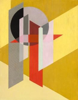 László Moholy-Nagy, Konstruktion Z VII, 1926 Bildnachweis: National Gallery Washington © VG Bild-Kunst Bonn
