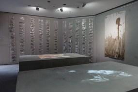 """Ausstellungsansicht """"Tieropfer"""", 2016, Foto: Universalmuseum Joanneum/N. Lackner"""