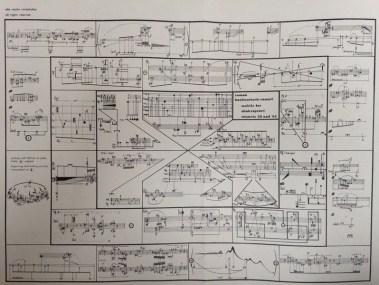 Roman Haubenstock-Ramati, Streichquartett Nr. 1, 1973, Skizzen und Entwürfe: Mobile B