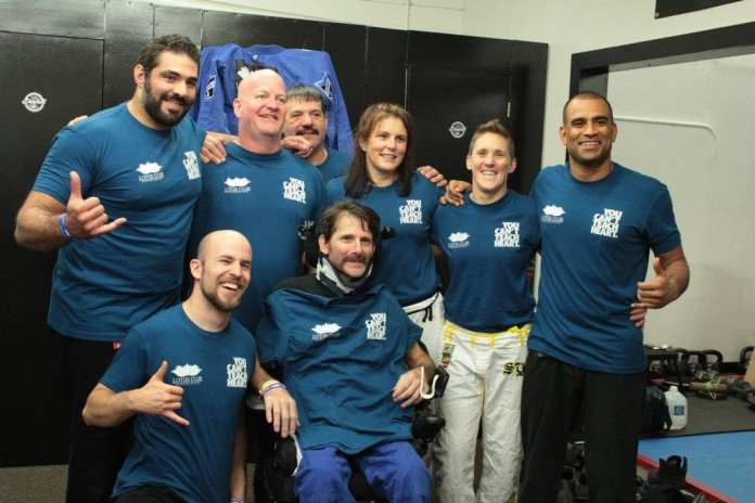 Triumph for Tony Event featuring top black belts organized by Coach Foster.--photo courtesy of James Foster