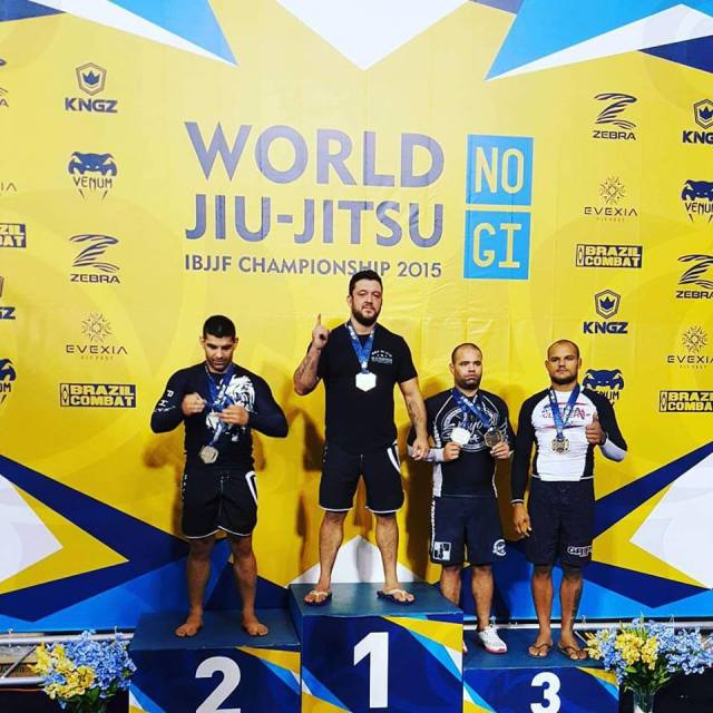 Tom DeBlass Takes Gold at the IBJJF No Gi World Championships--photo courtesy of Tom DeBlass