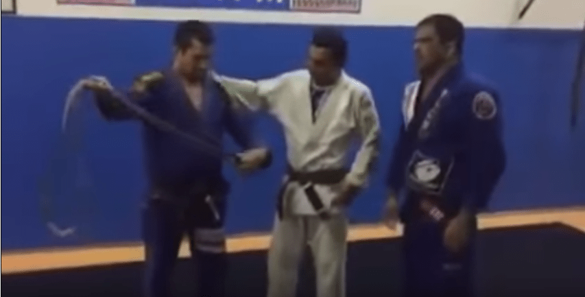 Jiu-Jitsu Brown Belt Got Demoted To Purple Belt