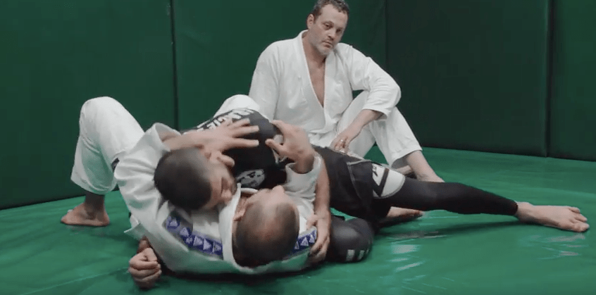 Gracie Breakdown: First Ezekiel Choke in UFC History Featuring Vince Vaughn