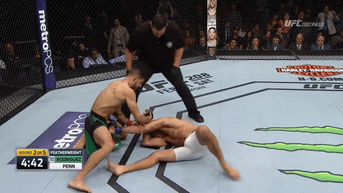 Yair Rodriguez Dominates BJ Penn, Wins By Second-Round TKO
