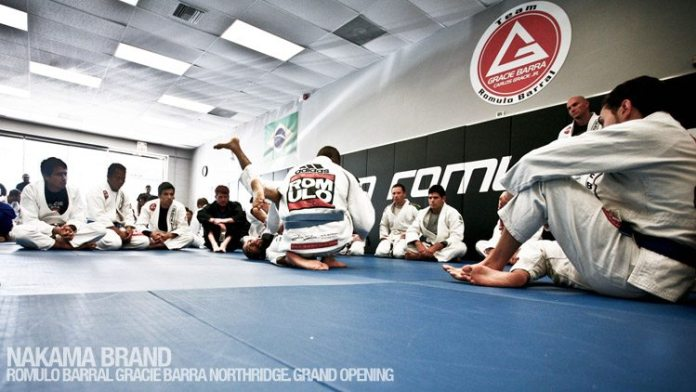 Romulo Barral Gracie Barra Northridge Grand Opening