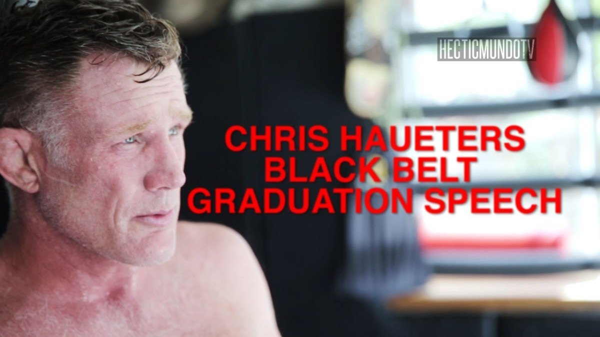Chris Haueter On New Black Belts: 'The Belt Is Your Gift Of Freedom'
