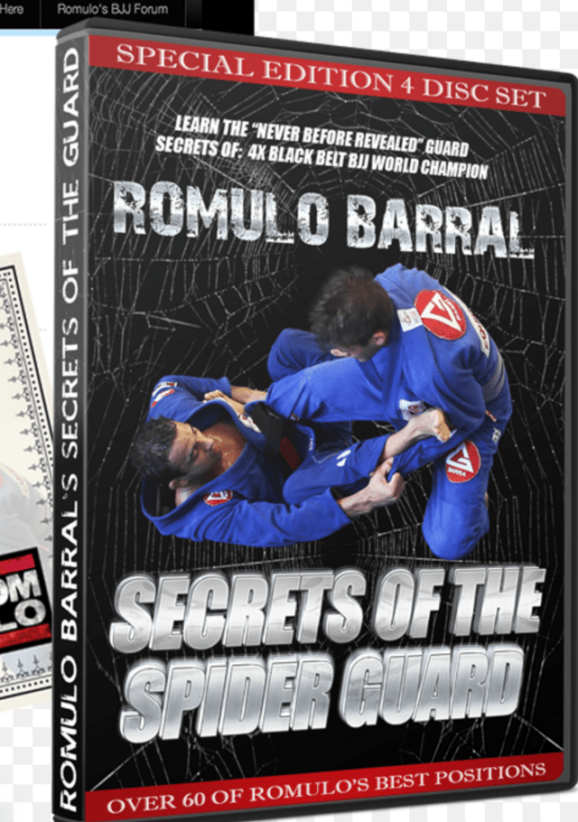 romulo barral dvd
