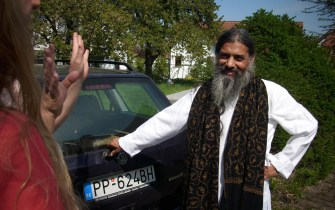 Babaji in Langenargen, Germany in April 2011