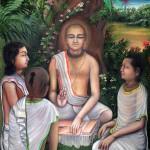 Jiva Gosvami with students