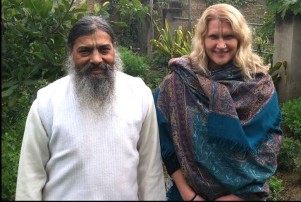 Babaji and Jiva Vedic Psychology Consultant Joshika