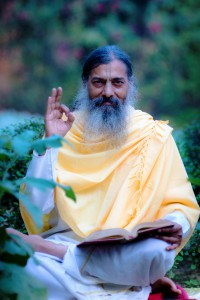 Babaji with jnana-mudra