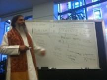 Babaji teaching