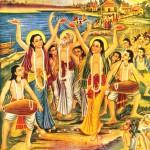 Sri Chaitanya's Sankirtana Party / New Vrindavan