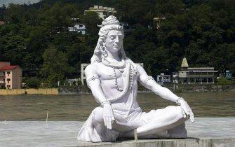 Shiva at Badrinath