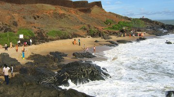 Bakel Fort Beach - Kerala - India