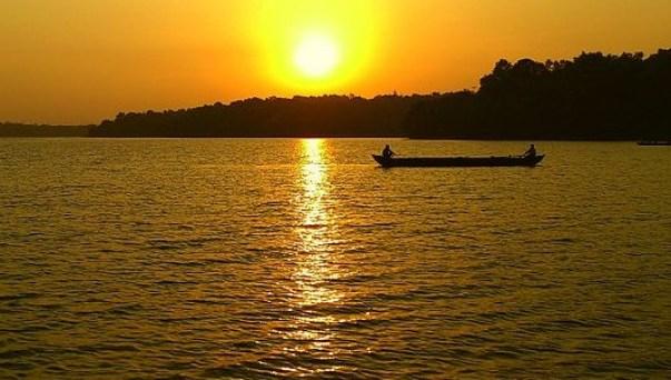 Sasthamcotta Lake - Kollam - Kerala - India