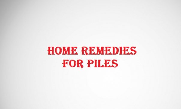 Home remedies for Piles