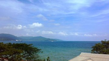 Port Blaire the capital town of Andaman and Nicobar Islands