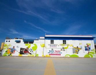 Aruba Bank kantoor wrap