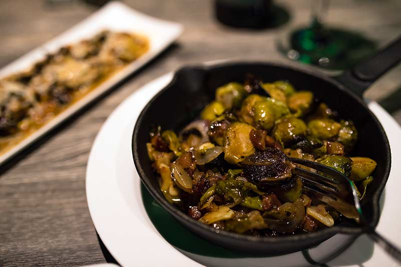 JJ Cooper Restaurant Bar Catering Long Beach New York Brussel Sprouts