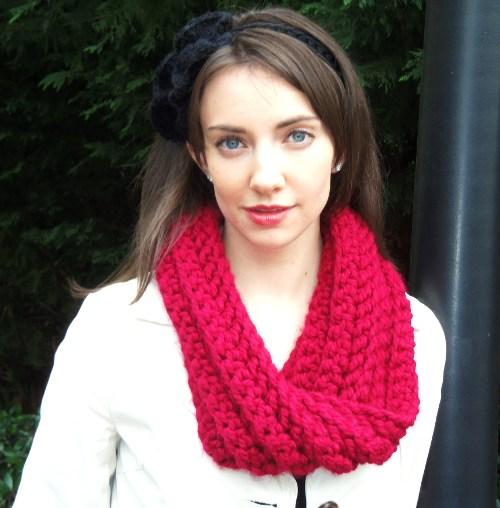 Chunky Crochet Cowl