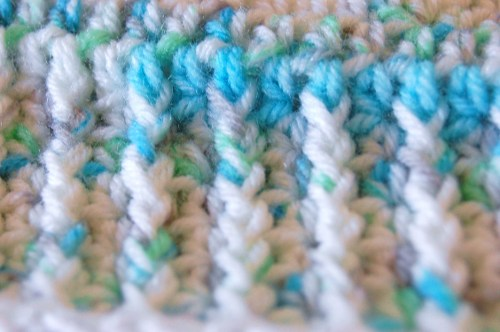 FPDC: Front Post Double Crochet