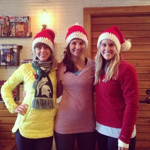 My Three Good Friends: Kim, Tisha and Trisha