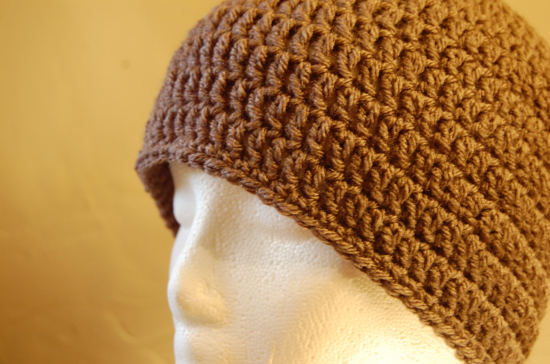 Men\'s Crochet Hat Pattern   JJCrochet