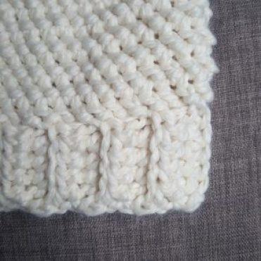 crocheted ribbed hat brim 876e11b077e