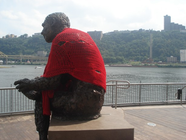 Mr. Rogers Crocheted Sweater - Pittsburgh