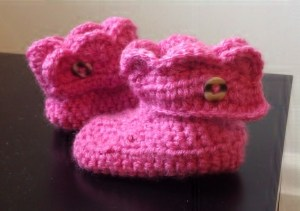 Baby Crochet Booties Pattern