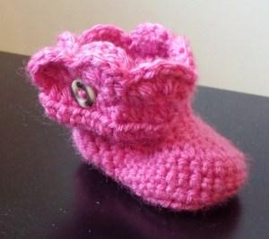 Newborn Crochet Booty Pattern