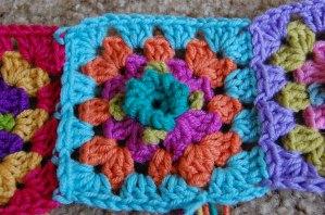 crochet picot granny square
