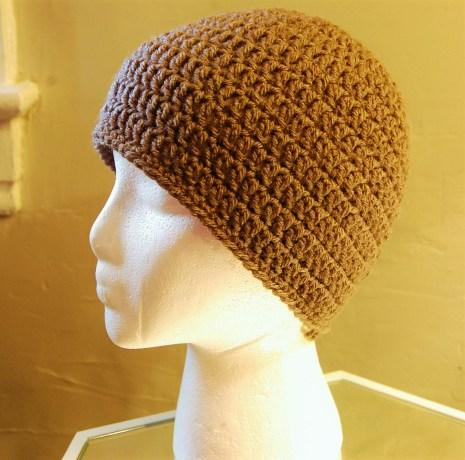mens crochet hat pattern