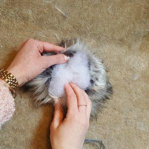 Step 5: How to Make a Faux Fur Pom-Pom