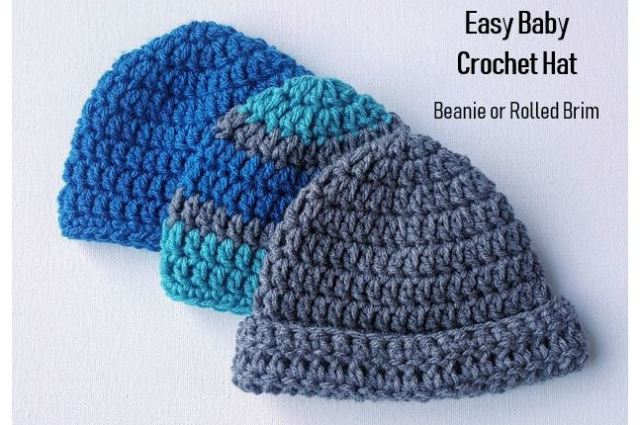 Easy Baby Crochet Hat Pattern For Beginners Jjcrochet